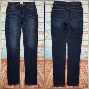 J. Crew tall high-rise toothpick jean Sz 29